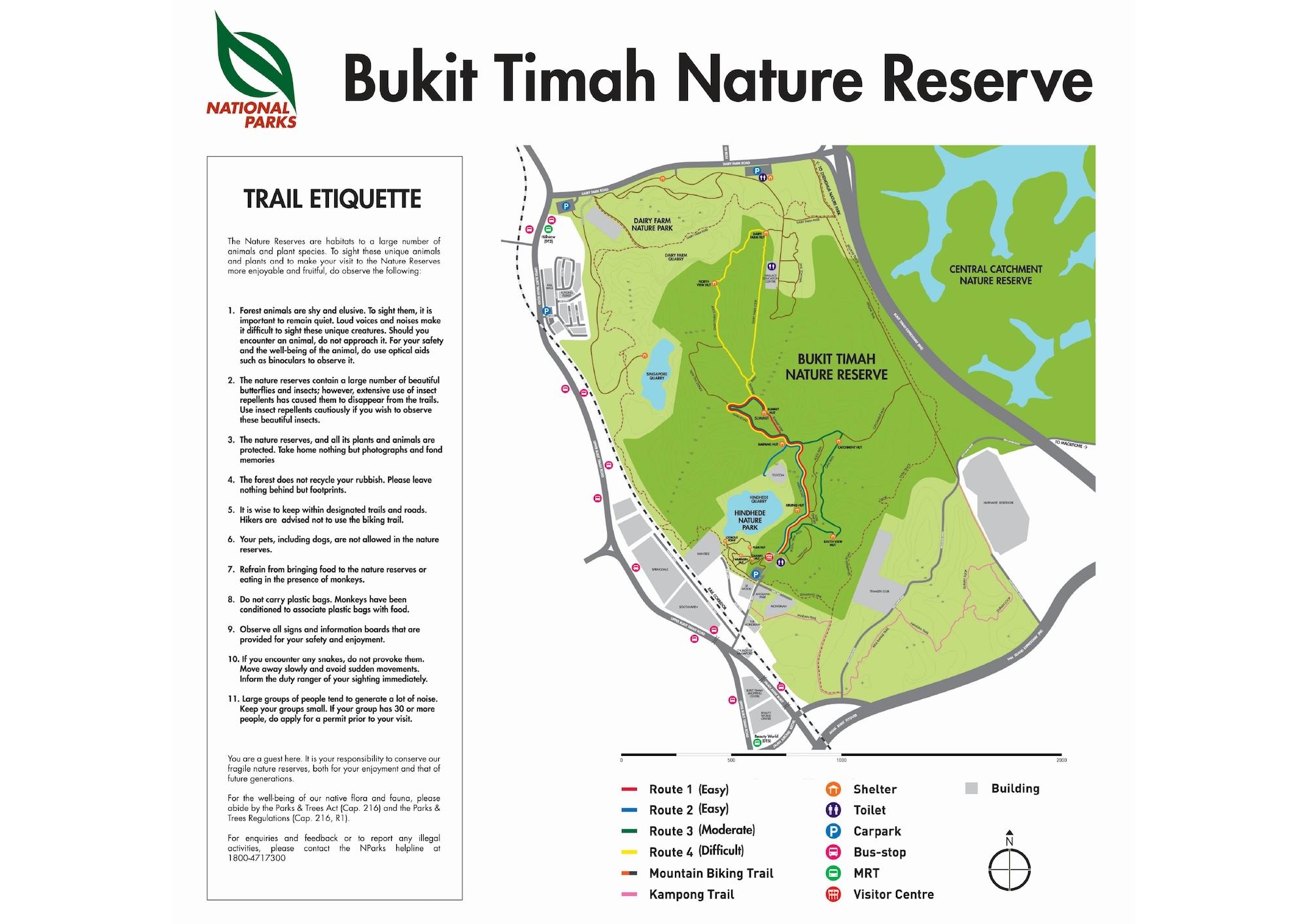 Pefect Ten - Bukit Timah Nature Reserve Singapore
