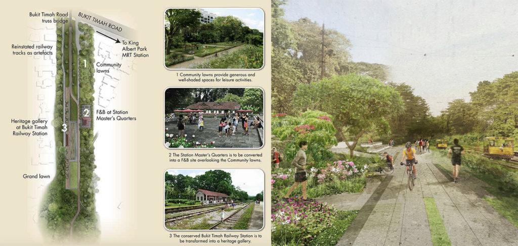 Pefect Ten - Bukit Timah Railway Station URA Plan Singapore