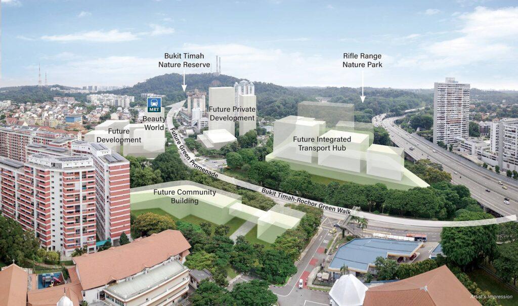 Pefect Ten - Beauty World Integrated Transport Hub Singapore