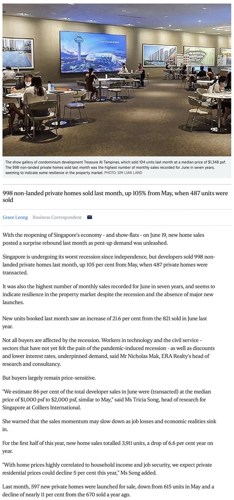 Pefect Ten - New private home sales post surprise rebound -1